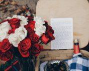 рози писмо бутилка